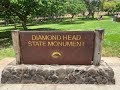 """Taking you on a """"Hiking Tour"""" to the top of Diamond Head State Monument, Island if Oahu. Hawaii."""