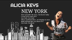 New York Empire state of minds Alicia Keys