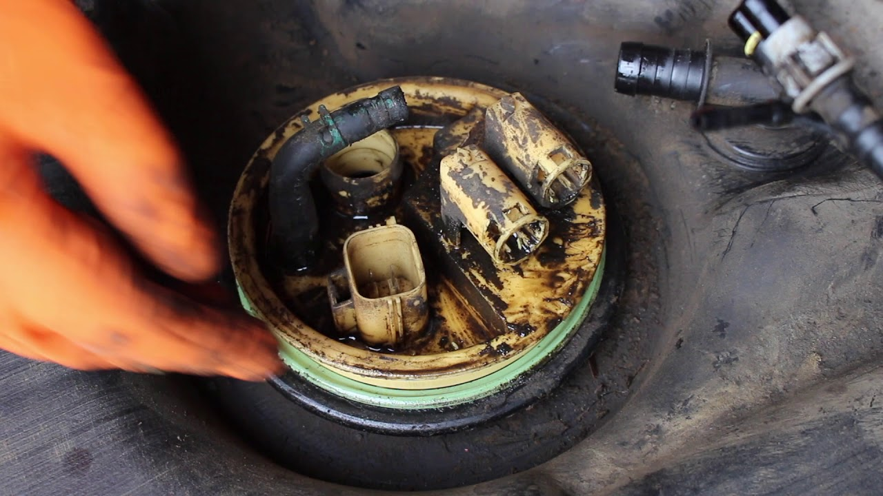 hight resolution of discovery 3 4 fuel pump replacement low pressure in tank pump