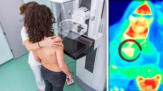Tourist Spot's Thermal Camera Detects Woman's Breast Cancer