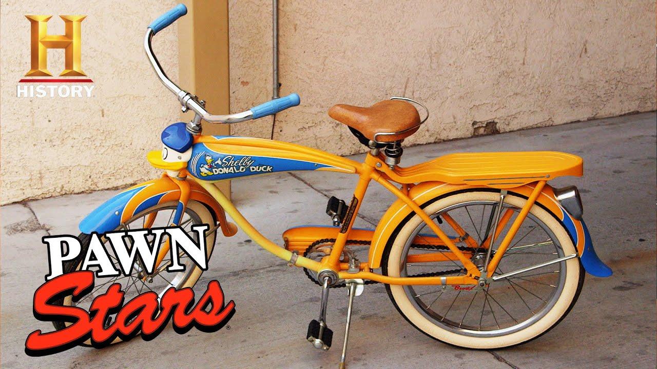 Download Pawn Stars: BIG $$$ Donald Duck Bike is a BIG FAKE (Season 19)
