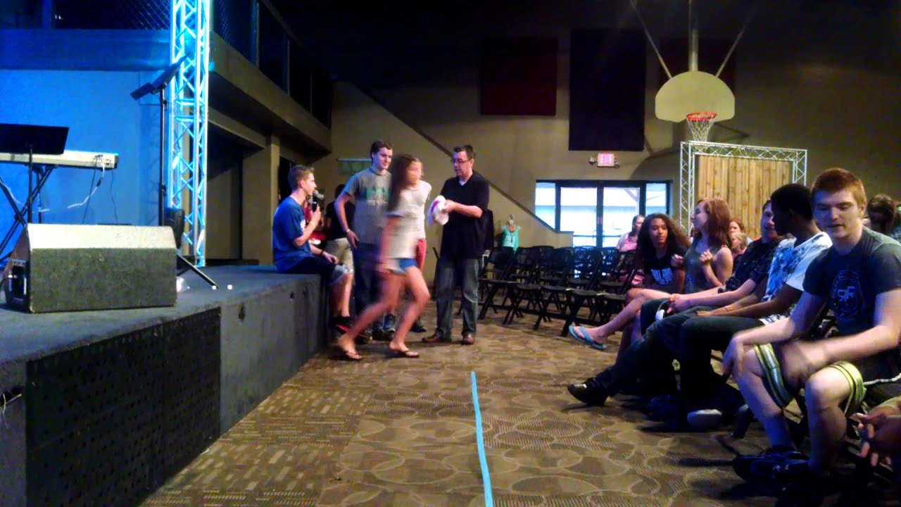 316 Youth Group Games - Walk The Line