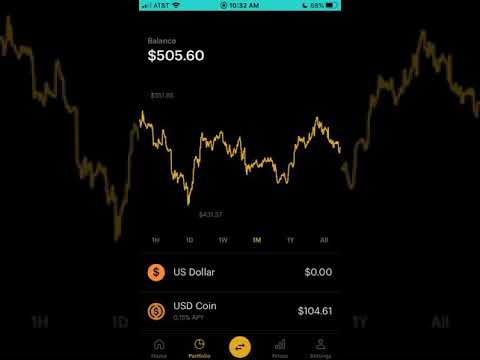 $500 Small Cryptocurrency Portfolio on Coinbase | Cryptocurrency Investing
