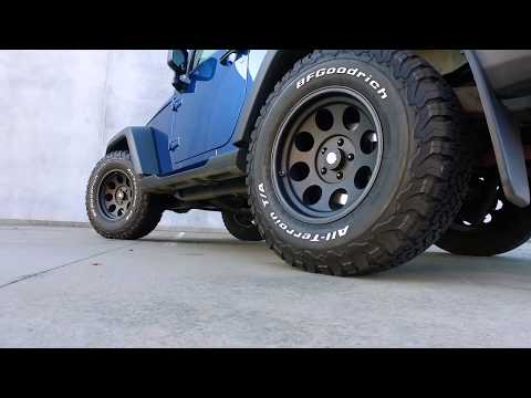 "Will 33"" Tires Fit On A Stock JK With No Lift? - Jeep Wrangler"