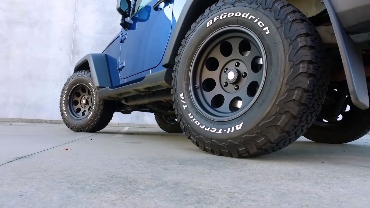 "Will 33"" Tires fit on a stock JK with no lift? - Jeep ..."
