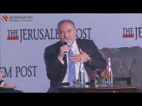 JPost Diplomatic Conference 2016 - Avigdor Liberman