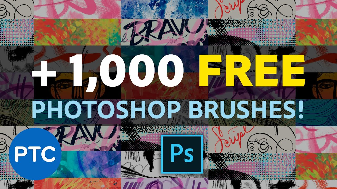Download Over 1,000 FREE High Quality Photoshop BRUSHES! Don't Miss Out!