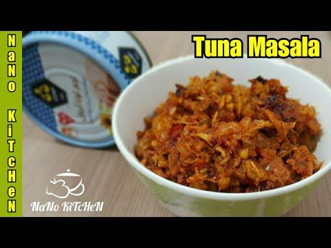 Tuna Masala/ Easy Tuna Receipe /Canned Tuna Receipe With Less Ingredients