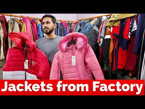 Jacket Manufacturer in Ludhiana | Jacket wholesale market | Jackets Direct from Factory