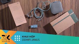 Unboxing   DDHiFi Janus - Tai nghe có dây 2.5mm dành cho fan của vocal