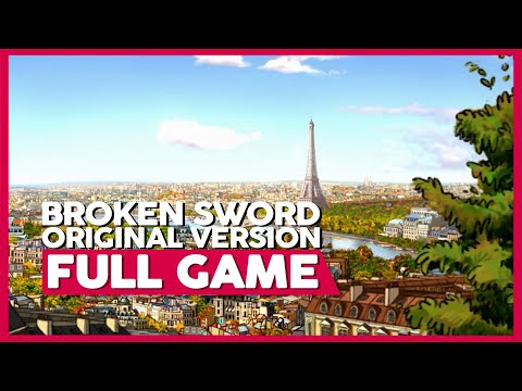 Broken Sword 1 | Full Playthrough (PC Original | 1080p | No Commentary)