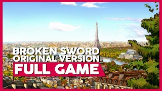 Broken Sword 1 (Original Game) | PC | Full Gameplay/Playthrough | No Commentary