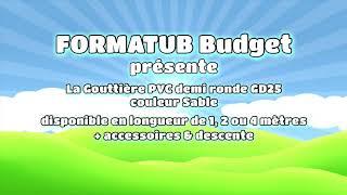 Vidéo: COLLIER DE GOUTTIERE PVC SABLE D80