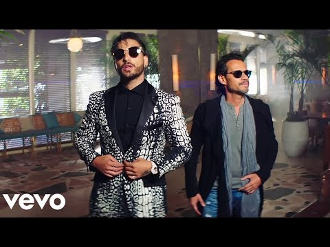 Maluma - Felices los 4 Salsa Version Official Music Video ft Marc Anthony