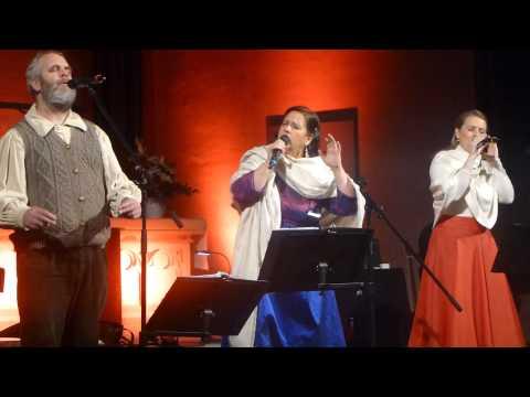 Patricia,Kathy & Paul Kelly,07.12.2014 Frankfurt,Hallelujah