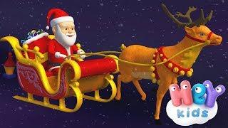 La Canción de Santa Claus 🎅 Canciones Navideñas para Niños - HeyKids