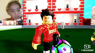 Reacting to a roblox soccer Bully sad