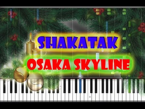 Shakatak - Osaka Skyline Piano Cover [Synthesia Piano Tutorial]
