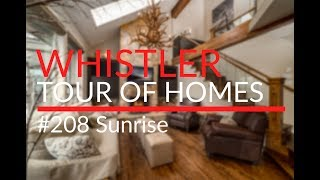 #208 Sunrise - Whistler Tour of Homes