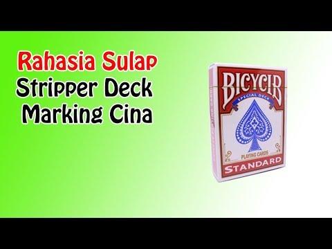 Rahasia Stripper Deck Bicycle Marking Cina | Tutorial Magic | Sulap Kartu | Dimen Shop