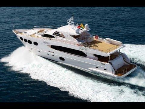 Al Rayyan TV - Al Beese - Boats Program - Gulf Craft Majesty Yacht 105