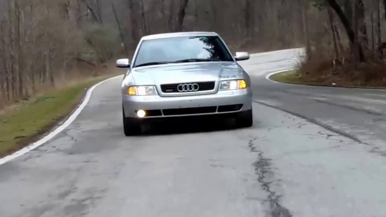 2000 Audi A4 b5 1.8t quattro - YouTube
