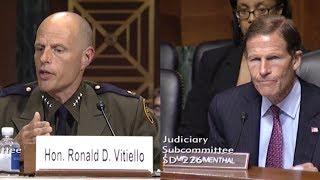 Senator Blumenthal Questions CBP on Border Abuses