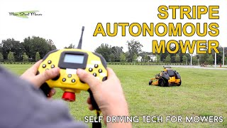 Self-Driving Stand-On Mower - Future of Landscaping!