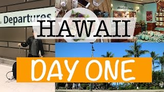 HAWAII DAY ONE || My Flight, Airport Jail & The Honolulu Cookie Company