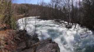 The Hollow River Rapids - April 2013