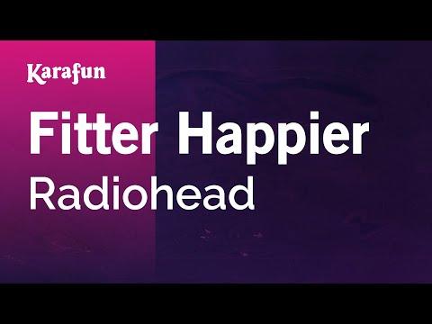 Karaoke Fitter Happier - Radiohead * mp3