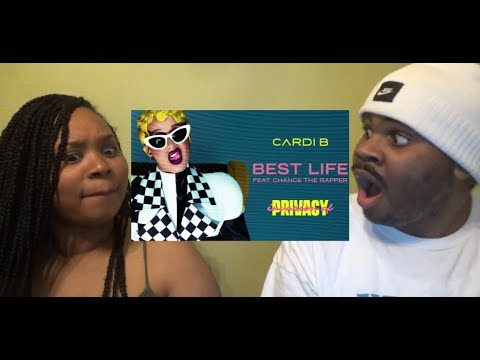 CARDI B - BEST LIFE FT CHANCE THE RAPPER - REACTION