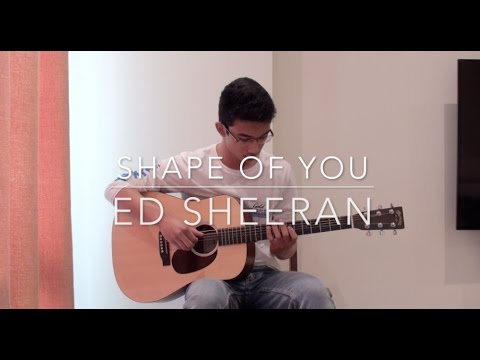 Shape of you - Ed Sheeran - [FREE TABS] Fingerstyle Guitar Cover