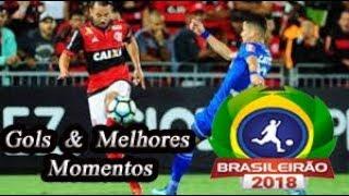 Flamengo x Cruzeiro - Gols & Melhores Momentos Brasileirão Serie A 2018 18ª Rodada