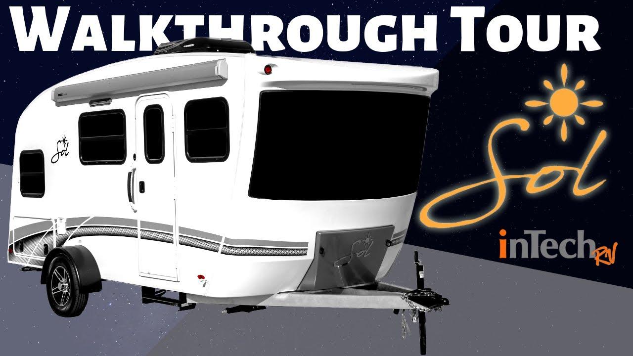 2019 Sol Travel Trailer by InTech RV Walkthrough Tour