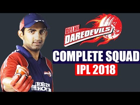 IPL Auction 2018 : Delhi team 2018 | Delhi Daredevils COMPLETE SQUAD with Price | वनइंडिया हिंदी