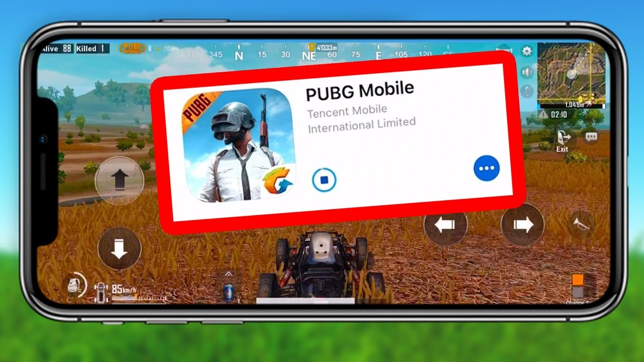 PUBG MOBILE Is RELEASED! IOS & Android Gameplay (PUBG