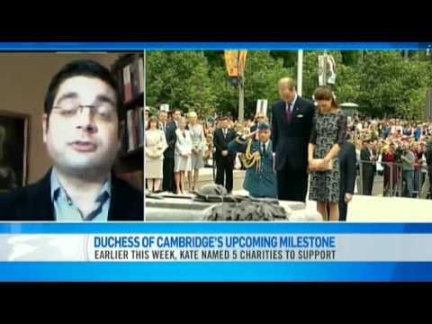 Duchess of Cambridge Milestone - Rafal Heydel-Mankoo on CTV