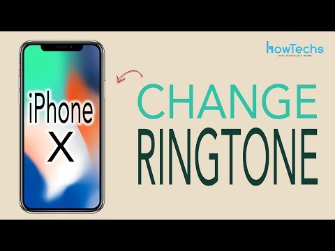 How to set a ringtone in iphone x