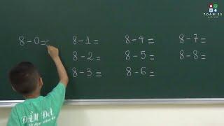 Học toán cho bé chuẩn bị vào lớp 1 - Phần 10