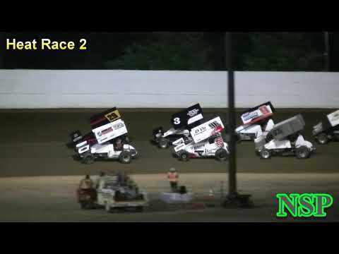 September 2, 2018 Summer Thunder Sprint Series Heat Races 1, 2 & 3 Grays Harbor Raceway