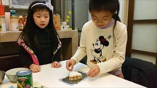 元本山DIY三角飯糰海苔製作影片何家大院闔家觀賞