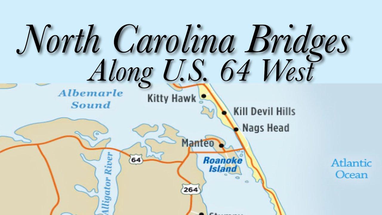 North Carolina Bridges Along U.S. 64 West