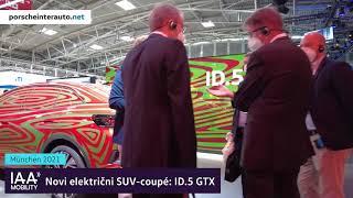 IAA Munich 2021 - Sprehod po razstavnem salonu Volkswagen