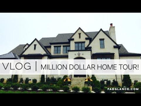 VLOG   Million Dollar Home Tour - Nashville