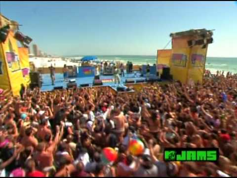 Asher Roth   I Love College ft  Jim Jones  @ MTVU Spring Break 09