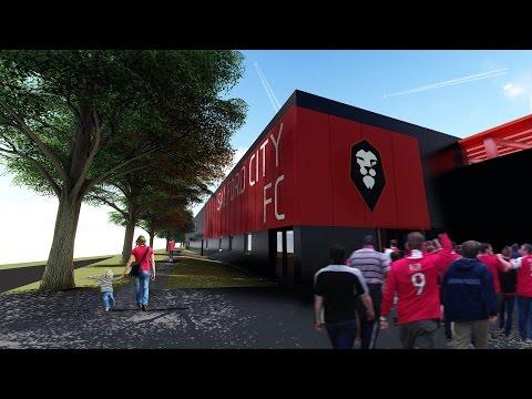 Proposed stadium designs at Moor Lane!