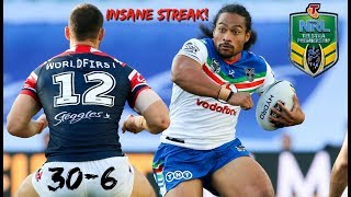 Warriors vs Roosters Match Highlights and Review! MAKING HISTORY!