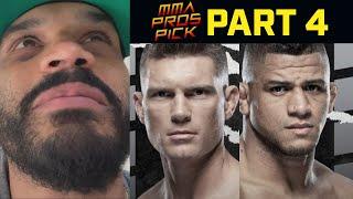 MMA Pros Pick Stephen Thompson vs Gilbert Burns Part 4 UFC 264