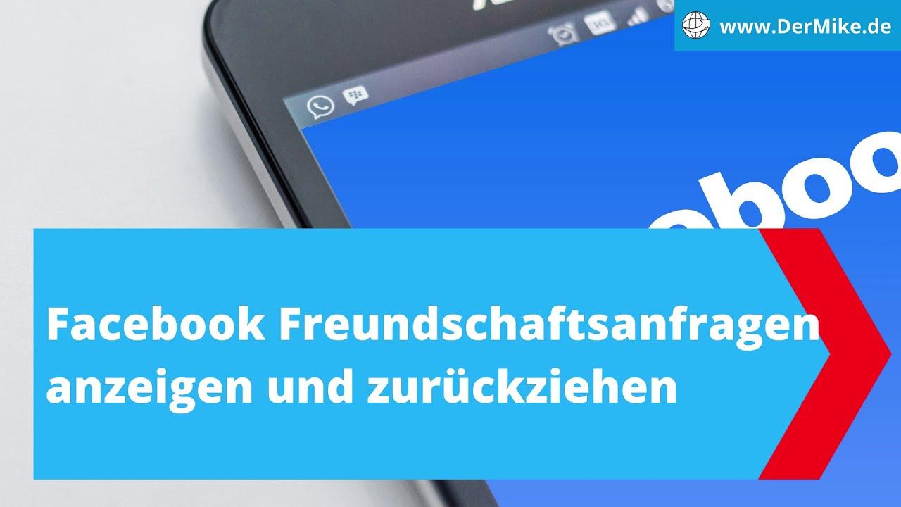 Facebook: gesendete Freundschaftsanfragen anzeigen und
